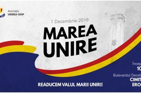 Marș în cinstea eroilor români la Chișinău de Ziua Națională