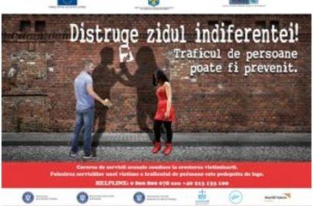 """MRP partener al campaniei de prevenire a exploatării sexuale """"Distruge Zidul Indiferenței!"""""""