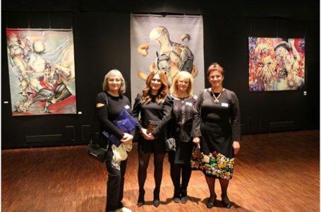 Meşteşugul tapiseriei şi broderiei româneşti,în centrul atenţiei la Bienala Internaţională de Textile de la Haacht prin lucrări somptuoase a şase artiste consacrate