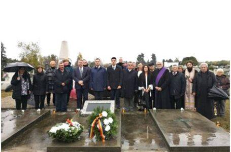 """Eroii români, comemoraţi de """"Ziua morţilor"""" în Ungaria"""