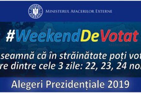Ministerul Afacerilor Externe a finalizat expedierea materialelor necesare votării în străinătate la cel de-al doilea tur al alegerilor pentru Președintele României din anul 2019