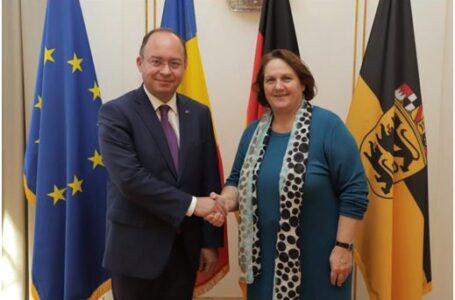 Ministrul afacerilor externe Bogdan Aurescu a inaugurat Consulatul General al României la Stuttgart