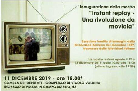 Expoziţie inedită dedicată Revoluţiei Române din decembrie 1989, găzduită de Camera Deputaţilor din Roma